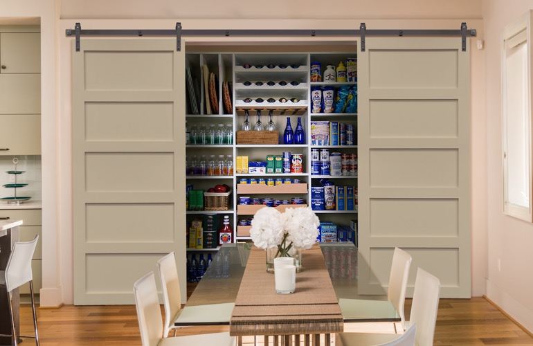 Pantry Sliding Barn Doors In Cincinnati, OH