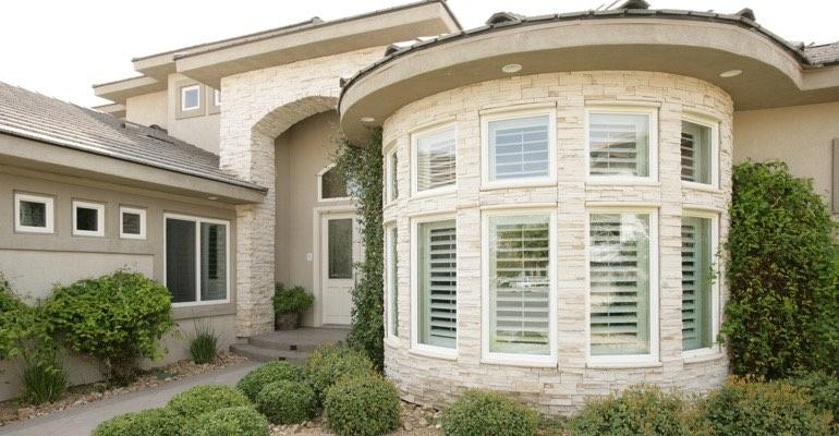 What Window Treatments Look Best From Outdoors Sunburst Shutters Cincinnati