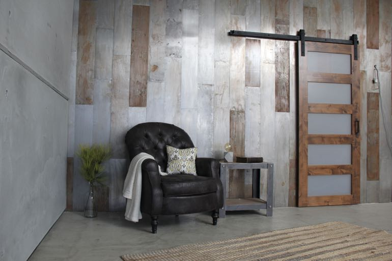 Cincinnati commercial barn door