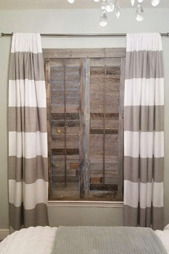 Reclaimed Wood Shutters