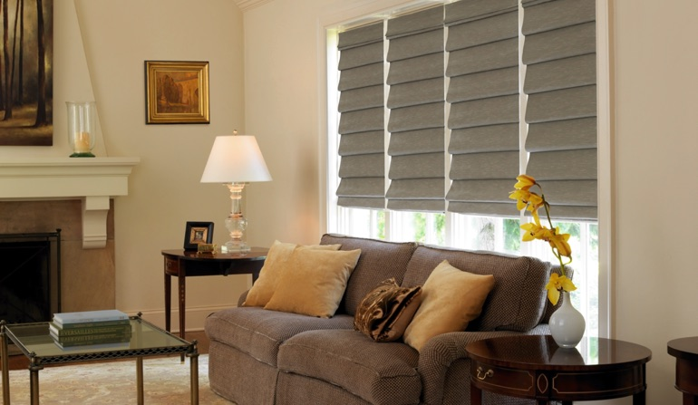 Roman Shades In Cincinnati, OH