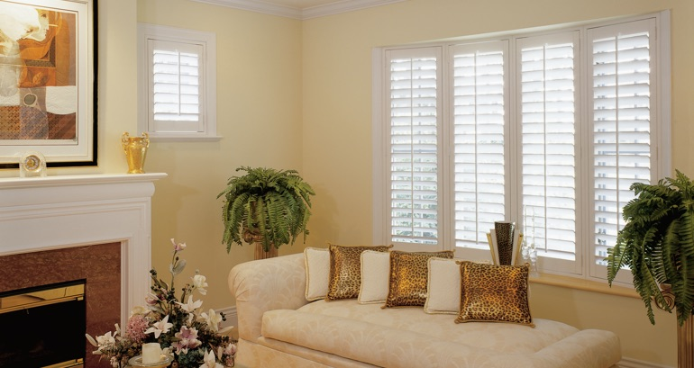 Cincinnati living room shutters