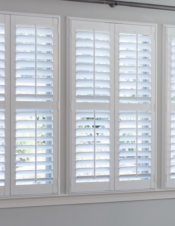Hidden tilt rod shutters on Cincinnati windows